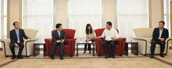 韓電南部発電の金兌宇副社長ご一行はご来訪