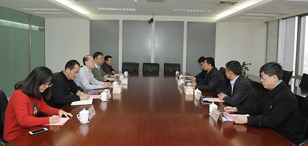 GM of Shanxi Provincial Civil Aviation Group Visits GMIE