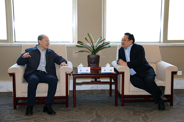 Chairman Meets with Head of Taiyuan Branch SPD Bank