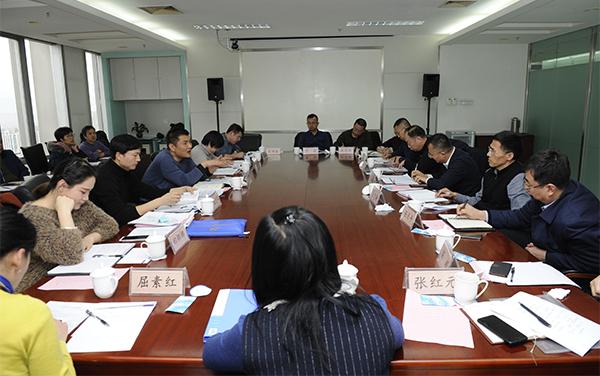 국가에너지국 산서감독관리 판공시 시장처 처장 죠우루펑 일행 내방