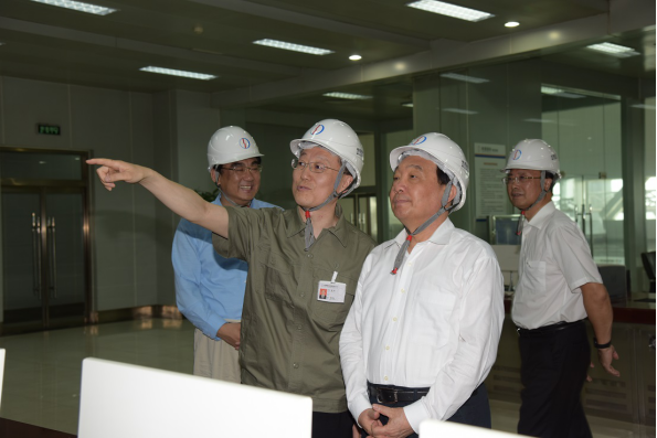 Member of Central Politic Bureau of CPC Visits Ruiguang Power Plant