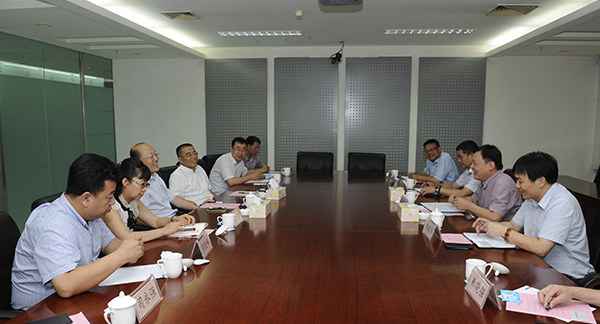 Chairman meets with His Counterpart of Zhejiang Thermal Power Construction
