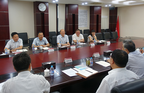 Chairman of the BOD Visits Companies and Institutes