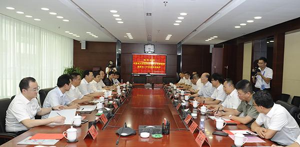 격맹국제와 중국성향홀딩스 청결열공급사업 MOU 체결