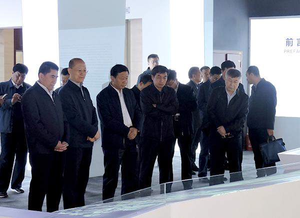 山西能源交通投资有限公司党委书记、董事长武强率队到集团公司拜访